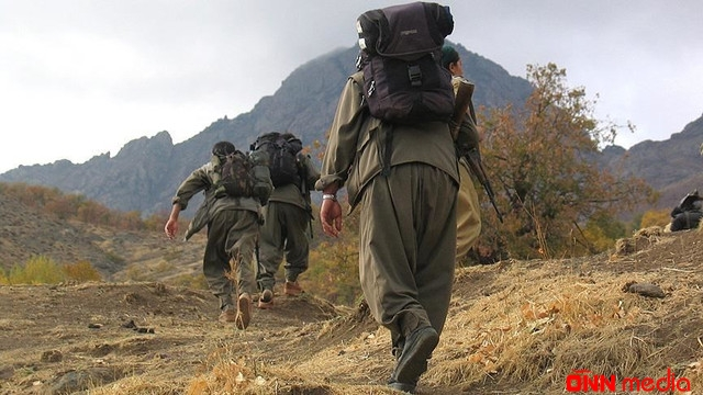 13 PKK terrorçusu təslim oldu