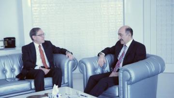 Əbülfəs Qarayev ABŞ-ın səfiri ilə görüşdü