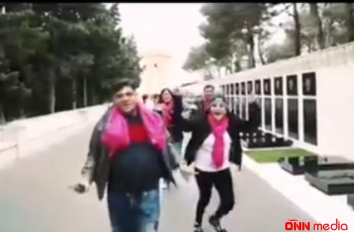 Hindistanlıların Şəhidlər Xiyabanında çəkdiyi video ilə bağlı RƏSMİ AÇIQLAMA