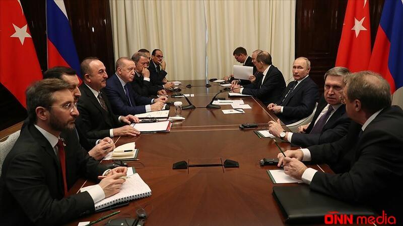 Ərdoğan və Putin bir araya gəldi