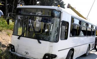 Avtobus qəzası zamanı yaralananların siyahısı