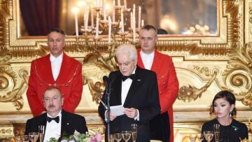 İtaliya Prezidenti 20 Yanvar faciəsindən danışdı