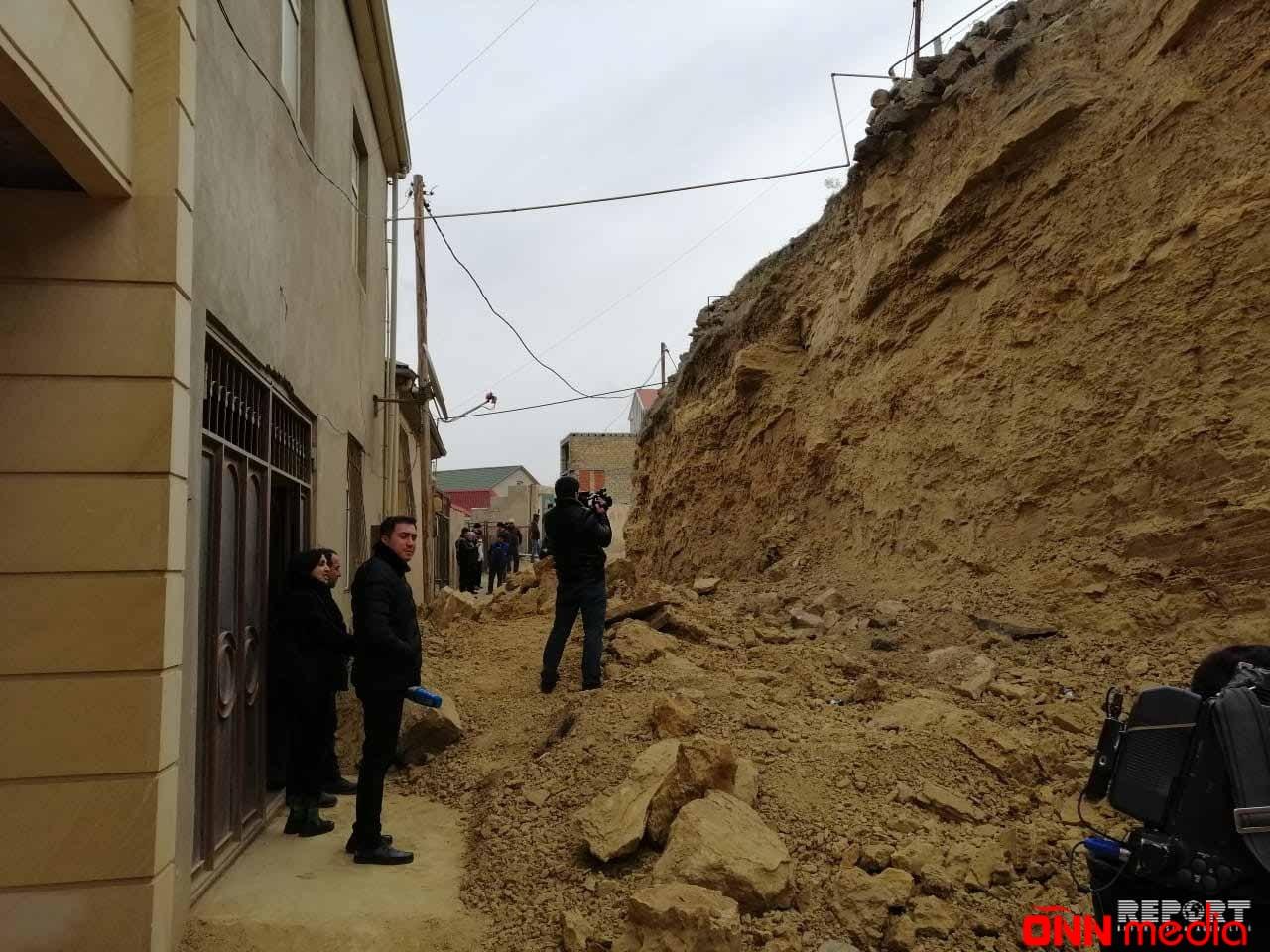 Nazirlik: Badamdardakı uçqun ərazisində yeni təhlükə yoxdur