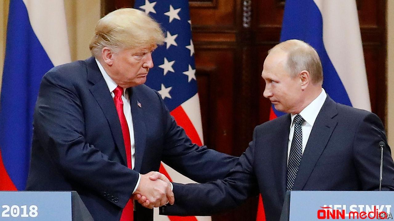 Tramp və Putin bu barədə danışıqlar apardılar