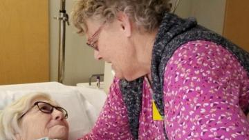 Həkimlər öləcək dedi, amma 90 yaşlı qadın görün nə ilə koronavirusa QALİB GƏLDİ – İNANILMAZ