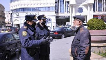 Bakıda xüsusi karantin rejimini pozan yüzlərlə vətəndaş cəzalandırıldı