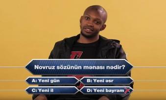 Əcnəbi futbolçular Novruz Bayramı ilə bağlı imtahandan keçdilər — VİDEO