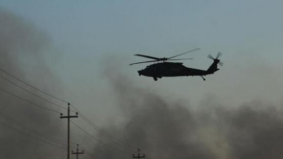 Dəhşətli helikopter qəzası – Ölənlər var
