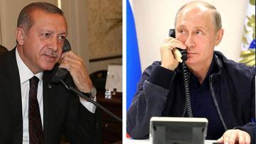 Ərdoğan Putinlə danışdı – Nələr müzakirə edildi?
