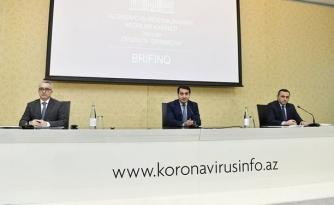 Azərbaycanda koronavirusla bağlı son vəziyyət açıqlanır — CANLI YAYIM