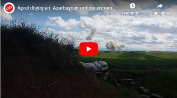 Aprel döyüşündə Azərbaycan Ordusu erməni postunu belə məhv edir – YENİ VİDEO