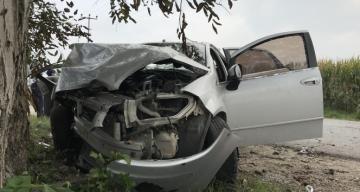 Ağdaşda ağır qəza: sürücü öldü
