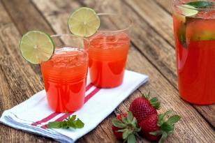 Çiyələkli limonad resepti