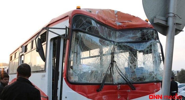 Daha bir avtobus qəzası- Ölən var