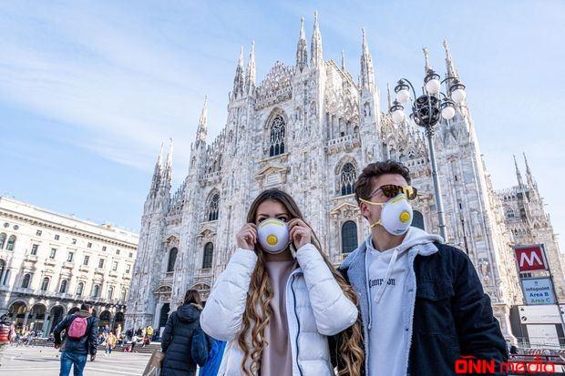 İtaliyada koronavirusa yoluxanların sayı ARTDI