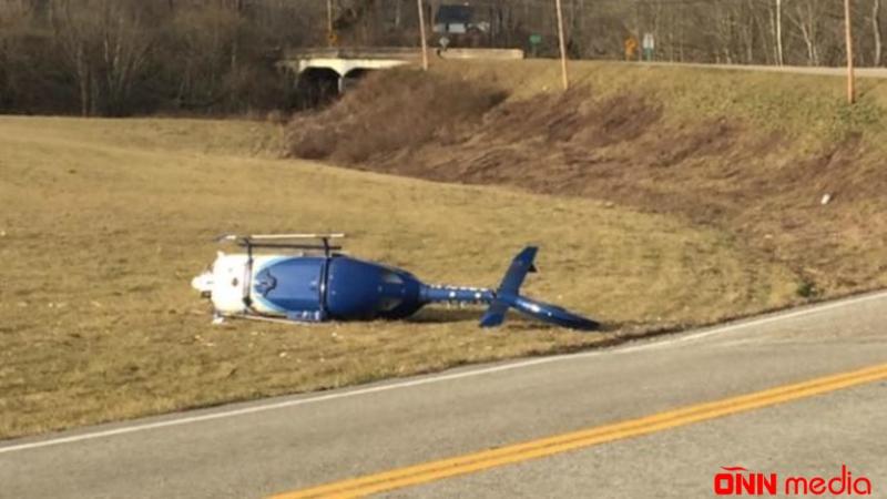 Helikopter qəzaya uğradı – 4 ÖLÜ