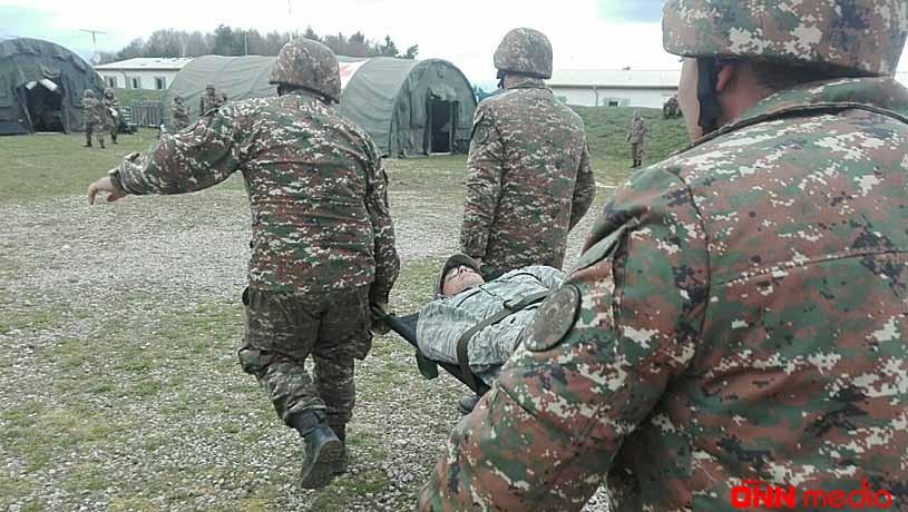 Qarabağda bir erməni hərbçi öldü, 4-ü yaralandı