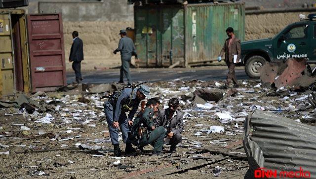 Əfqanıstanda güclü partlayış- 11 polis öldü