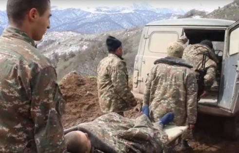 Ermənistan ordusu itki verdi: bir ölü, bir yaralı…