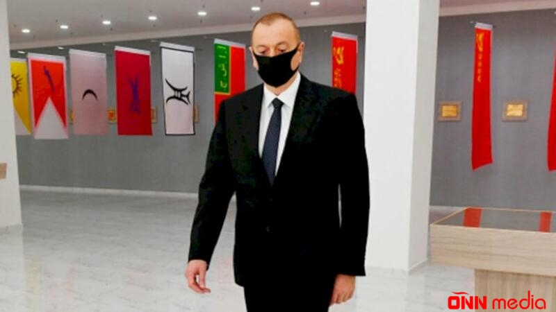 İlham Əliyevdən maska taxmayanlara XƏBƏRDARLIQ