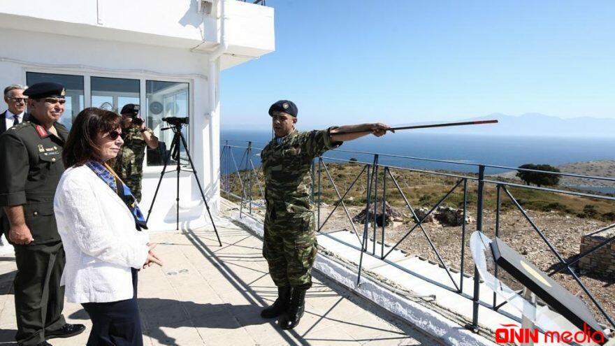 Yunan Prezident Türkiyə sərhədini pozdu
