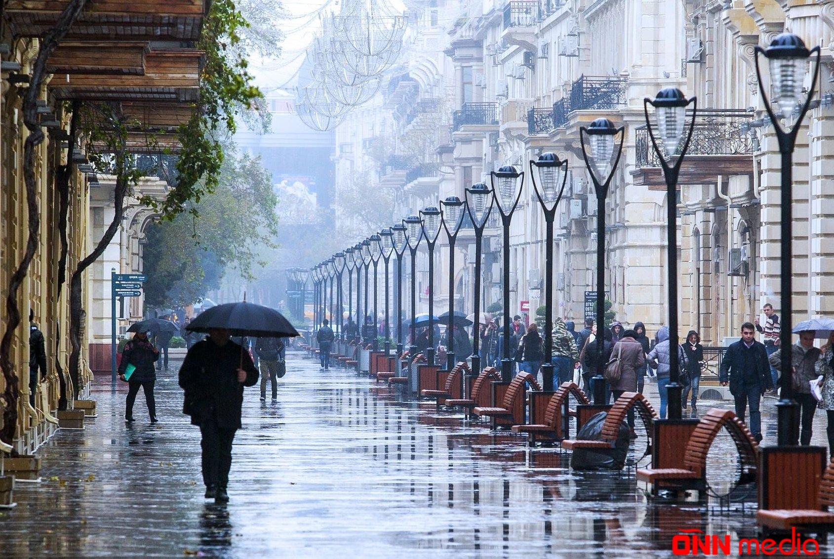 Sabahın havası açıqlandı- Yağış yağacaq,dolu düşəcək
