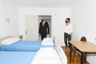 Prezident və xanımı Xətaidə modul tipli hospitalın  açılışında iştirak ediblər