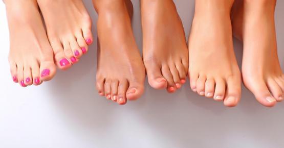 Gözəl ayaqlar üçün xüsusi pəhriz