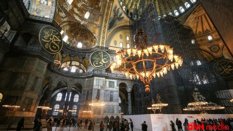 Ayasofya 86 ildən sonra ibadətə açıldı – QƏRAR