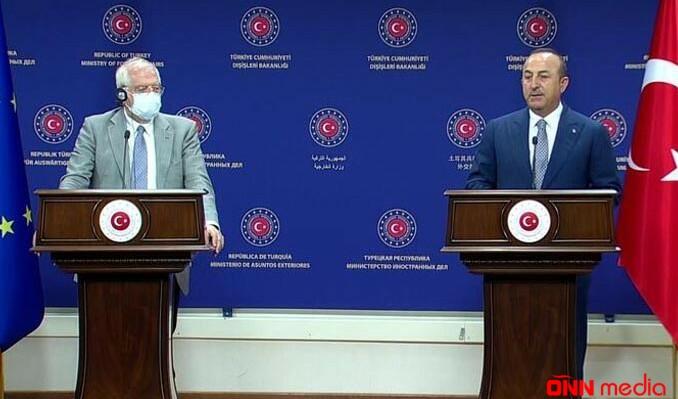 Borell Ankarada: Çavuşoğludan Qərbə mesaj…