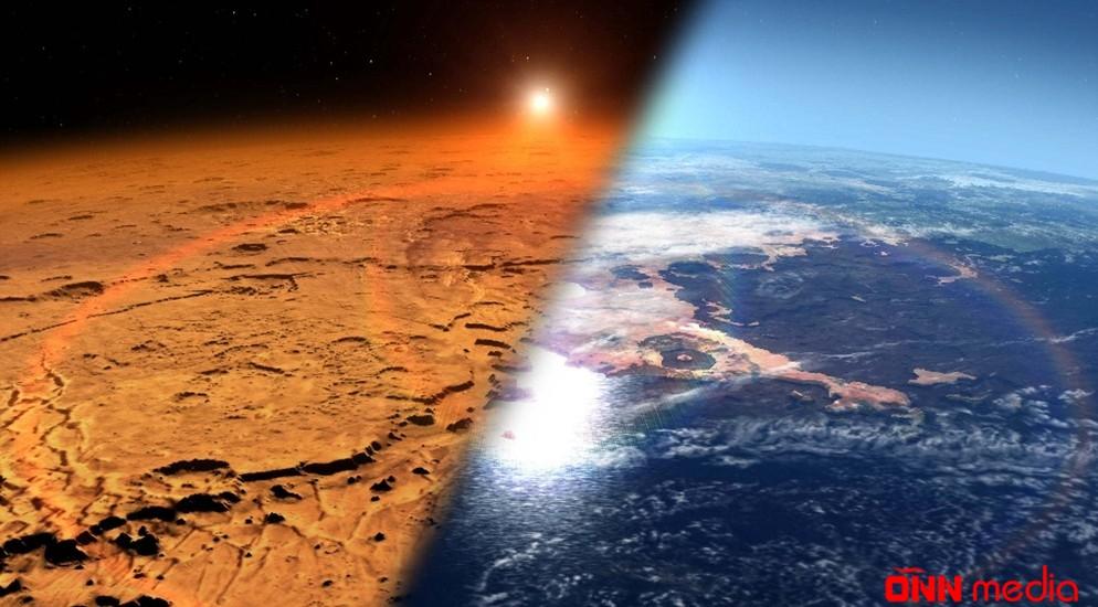 Marsda ilk dəfə ozon izləri tapıldı