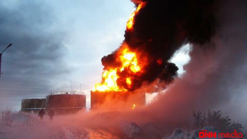 İranda neft emalı zavodu YANIR
