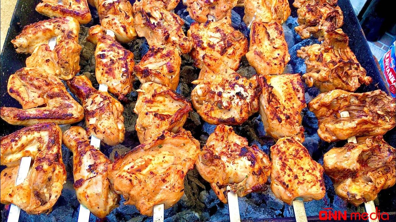Sobada manqal keyfi: Toyuq kababı resepti