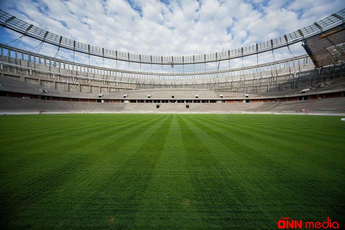 Şamaxıda yeni stadion tikilir – FOTO