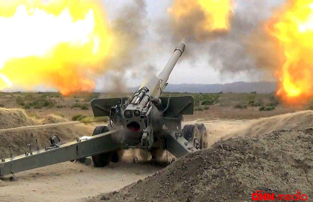 Müdafiə Nazirliyi cəbhədəki son durumu açıqladı – Minaatan və artilleriya ilə…
