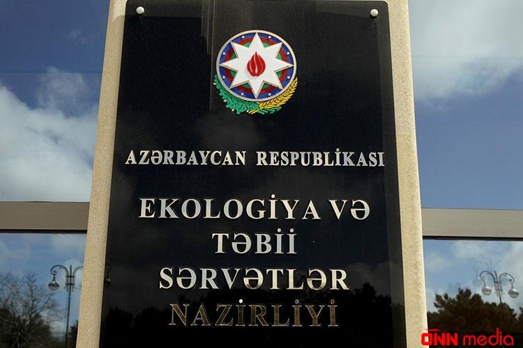 Təbiətə ziyan vuran şirkət CƏZA ALDI