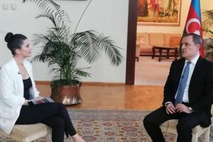 Nazir Türkiyə televiziyasına müsahibə verdi