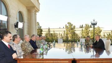 Prezident İlham Əliyev Türkiyənin generallarını qəbul etdi – FOTOLAR