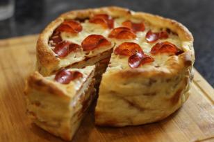 Pizza tortunun hazırlanması