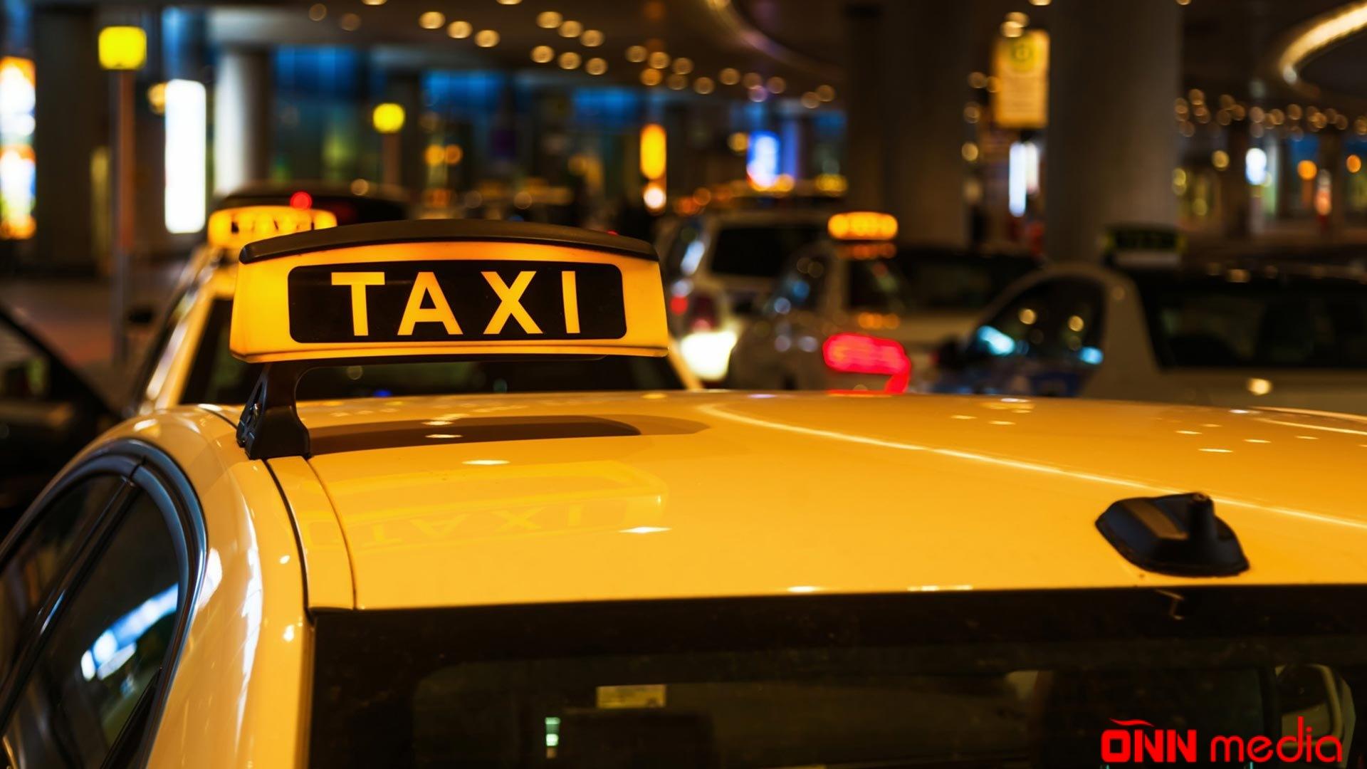 Bakıda taksi qaçırıldı
