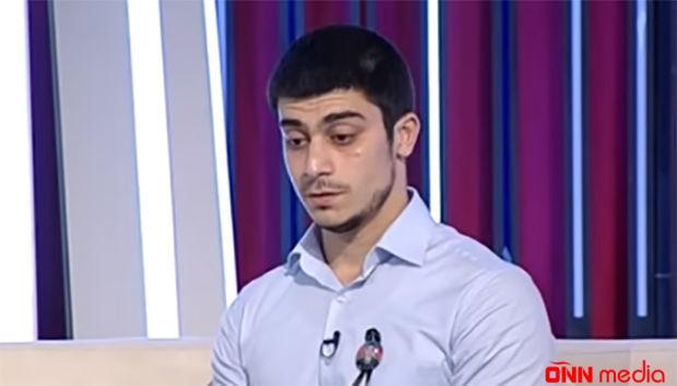 """Şəhid polkovnikin oğlu: """"Hərbi təlimlərdə iştirak etməyə hazıram"""""""