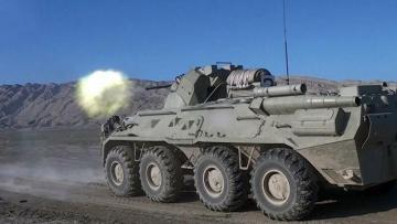 Azərbaycan Ordusunun zirehli texnikalarının təlimləri keçirilir -VİDEO