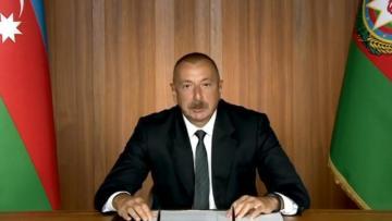 İlham Əliyev BMT-də videomüraciətlə çıxış etdi