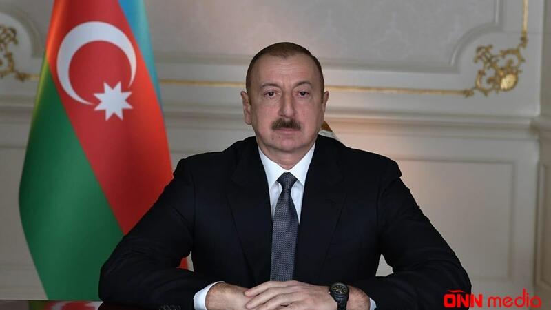 """Prezident """"Abşeron"""" yatağının təməlqoyma mərasimində iştirak etdi"""