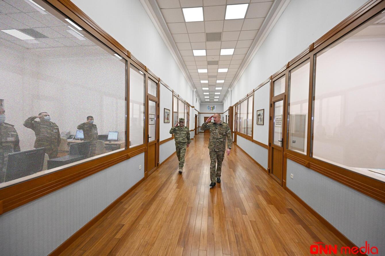 Ali Baş Komandan operativ müşavirə keçirdi – FOTOLAR