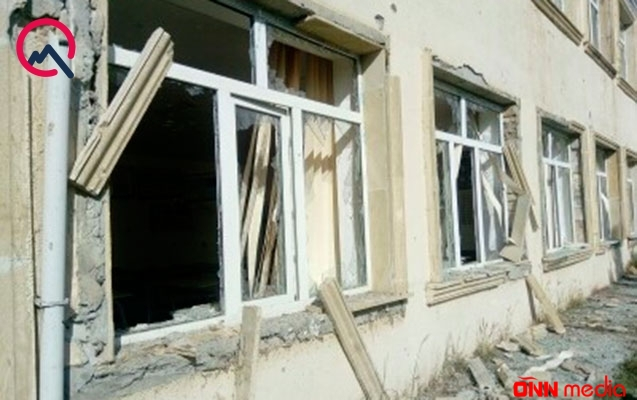 Ermənilər indi də kənd məktəbini vurdu – FOTOLAR