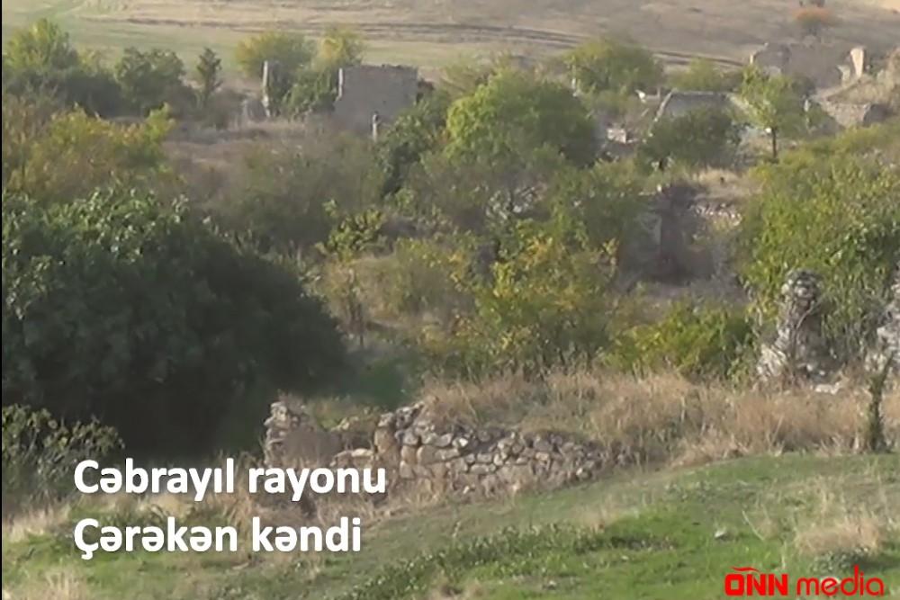 İşğaldan azad olunan Çərəkən kəndi – VİDEO