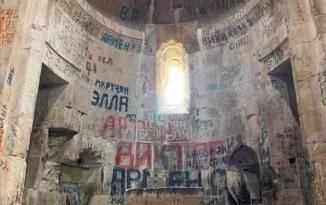 Hadrutdakı alban kilsəsi də erməni vandalizminə məruz qalıb – FOTO