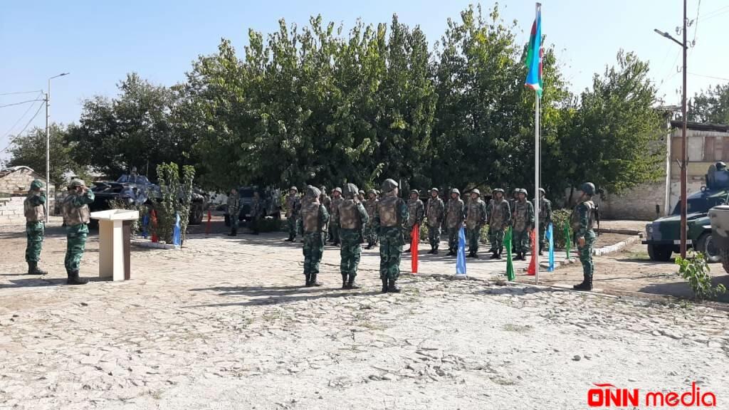 İşğaldan azad olunan sərhəd zastavalarımızda bayrağımız UCALDILDI – FOTO