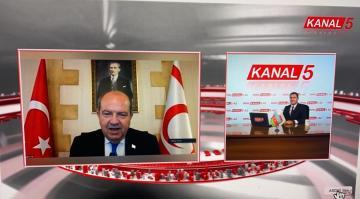 Şimali Kipr Türk Respublikasının Prezidenti Azərbaycanda ilk dəfə KANAL 5 Tv-yə MÜSAHİBƏ VERDİ